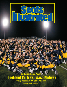 Scots Illustrated Cover vs Midway 112114