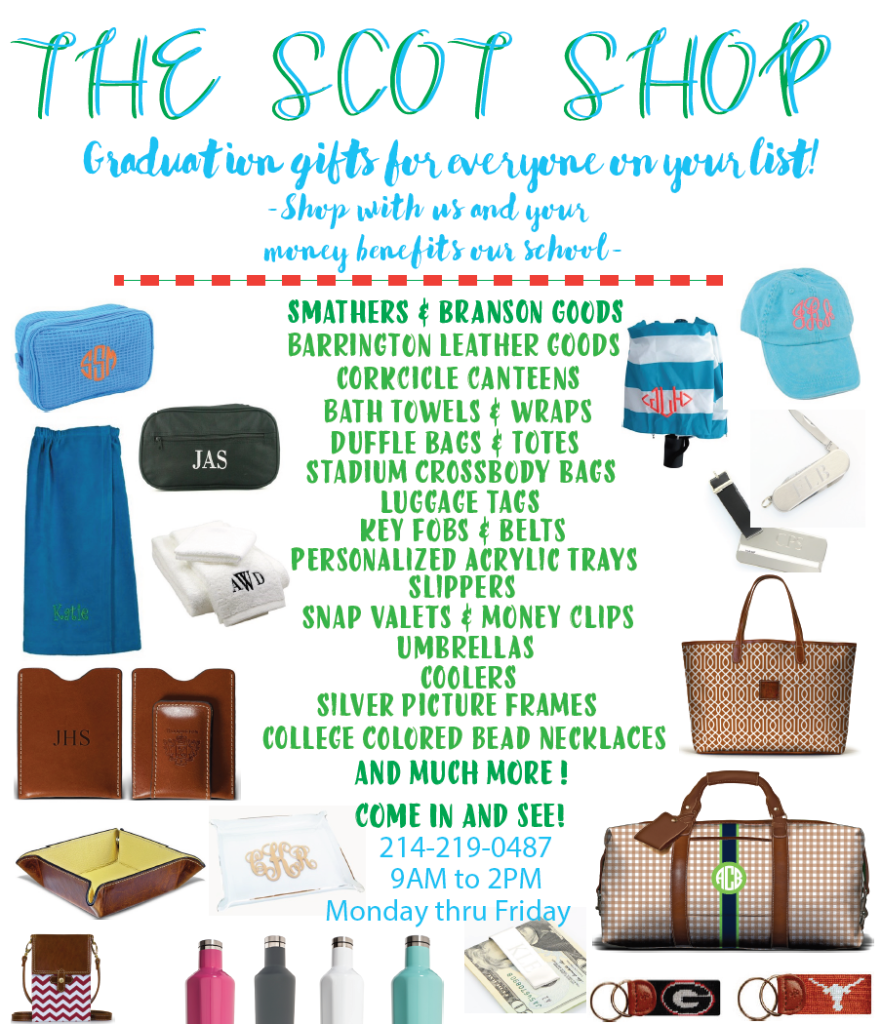 Scot Shop Grad Gifts 2016